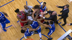 Must See: Ibaka, Lopez throw punches