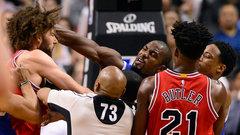 Court Squeaks: Ibaka's scrap with Lopez sparks Raptors' wild comeback