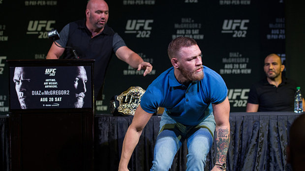 Nevada State Athletic Commission reduces McGregor's fine