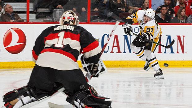 NHL: Penguins 1, Senators 2 (SO)