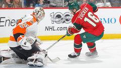 NHL: Flyers 3, Wild 1