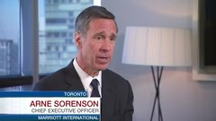 Marriott CEO: Canadian lodging wins on Trump travel ban uncertainty