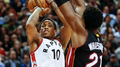 Raptors visit Heat tonight in what could be a playoff preview