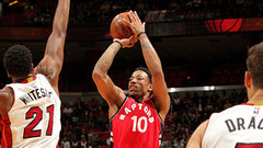 NBA: Raptors 101, Heat 84
