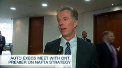 Valium and contingency plans: Auto parts CEOs prepare for NAFTA talks