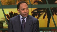 Stephen A. likes Warriors over Shaq's Lakers