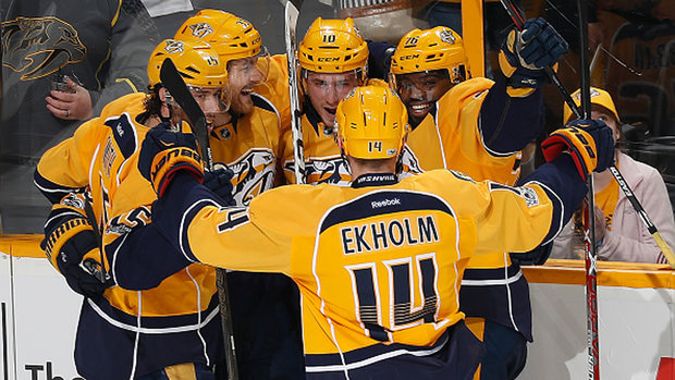 NHL: Flames 1, Predators 3