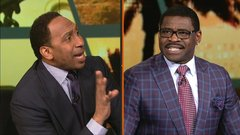 Stephen A. clashes with Irvin over Cowboys