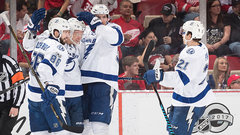 NHL: Lightning 2, Red Wings 1 (OT)