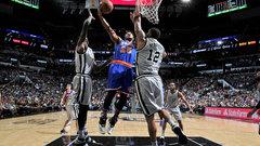 NBA: Knicks 98, Spurs 106