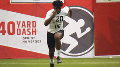 Adeleke records the fastest 40-time at the CFL Combine