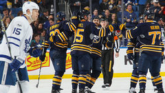NHL: Maple Leafs 2, Sabres 5