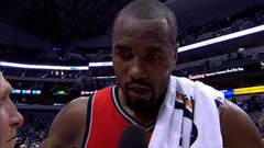 Ibaka stressing the importance of playing team defence
