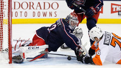 NHL: Flyers 0, Blue Jackets 1