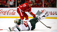 NHL: Wild 2, Red Wings 3 (OT)