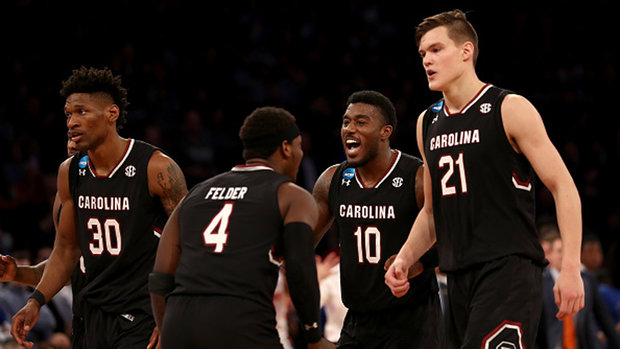 South Carolina vs. Gonzaga will be a 'contradiction in styles'