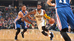 NBA: 76ers 94, Pacers 107