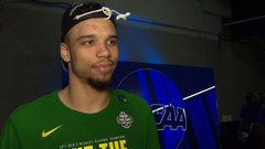 Brooks: We didn't want to feel the heartbreak we felt last year