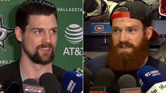 Jordie and Jamie Benn discuss Tuesday night's showdown