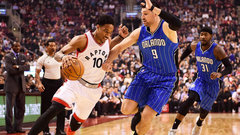 NBA: Magic 112, Raptors 131
