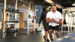 Myles Garrett is a beast in the gym