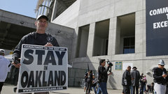 Raiders' move to Las Vegas 'in good shape'