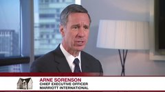 Marriott CEO explains why Airbnb needs to be treated like a hotel