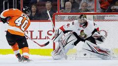 NHL: Senators 2, Flyers 3 (SO)