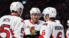 Sens continue five-game road swing in Philly