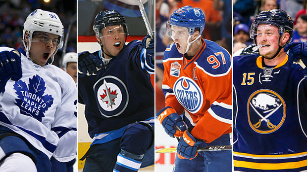 The Quiz: Who will have 50-goal season first - Matthews, Laine, McDavid or Eichel?