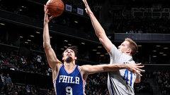NBA: 76ers 106, Nets 101
