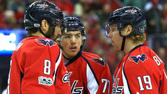 Is Ovi/Oshie/Backstrom the best line in hockey?