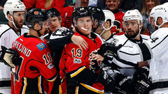 Flames not expecting retribution for Tkachuk elbow
