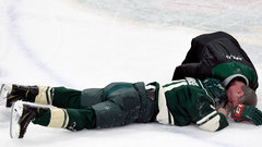 Parise out tonight against Sens