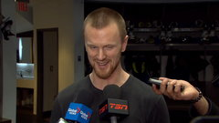 Sedin: 'We're hoping he can turn out like his brother'