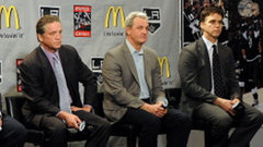 Kings fire Lombardi and Sutter, promote Robitaille and Blake