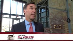 Finance Minister Bill Morneau on Toronto's high housing costs