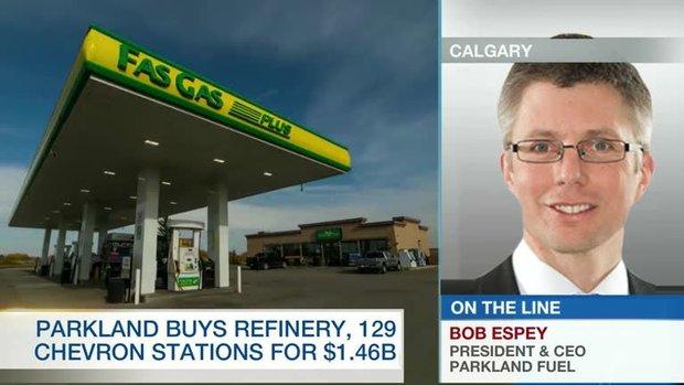 'Tremendous opportunity' to unleash value of Chevron assets: Parkland CEO