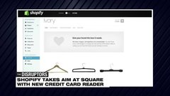 Shopify takes on Jack Dorsey's Square