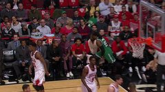 Did Rondo try to trip Crowder?