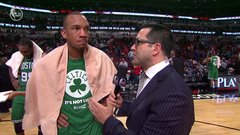 Bradley: Celtics wanted to play hard for Thomas