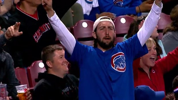 The Keg Must See: Reds poke fun at Cubs fans on 'bandwagon cam'