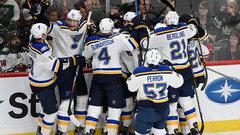 NHL: Blues 4, Wild 3 (OT)