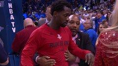 NBA reviewing incident between Beverley and fan
