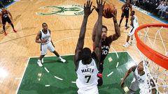 NBA: Raptors 87, Bucks 76