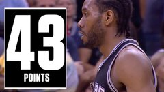 Leonard's playoff performance for the ages