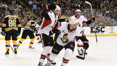 NHL: Senators 3, Bruins 2 (OT)