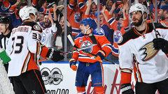 By the Numbers: Oilers vs. Ducks