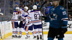 NHL: Oilers 3, Sharks 1
