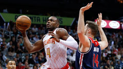 NBA: Wizards 101, Hawks 111